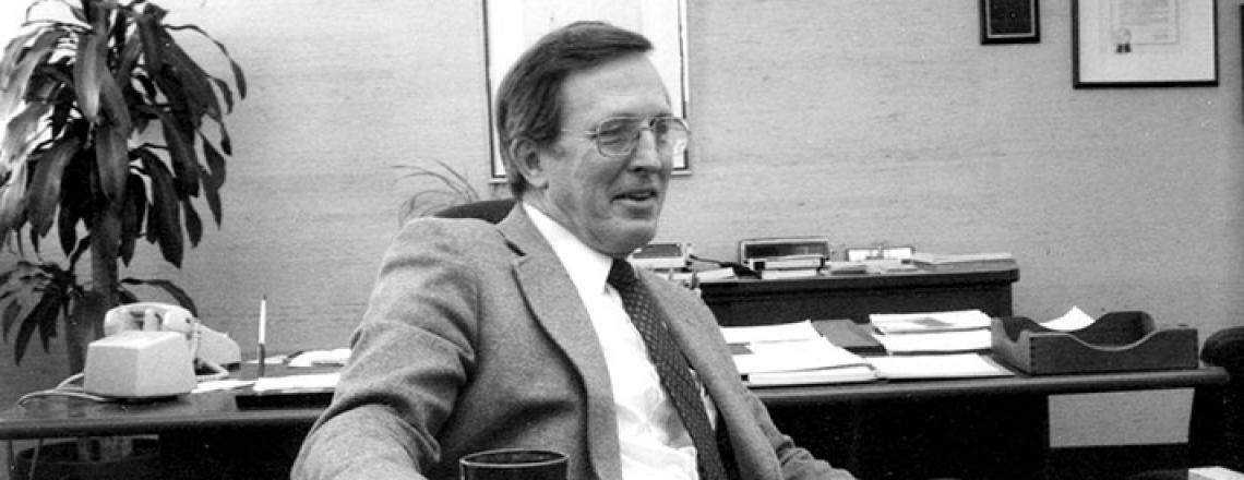 portrait of John Greene in 1985