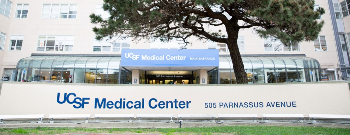 entrance of UCSF Medical Center