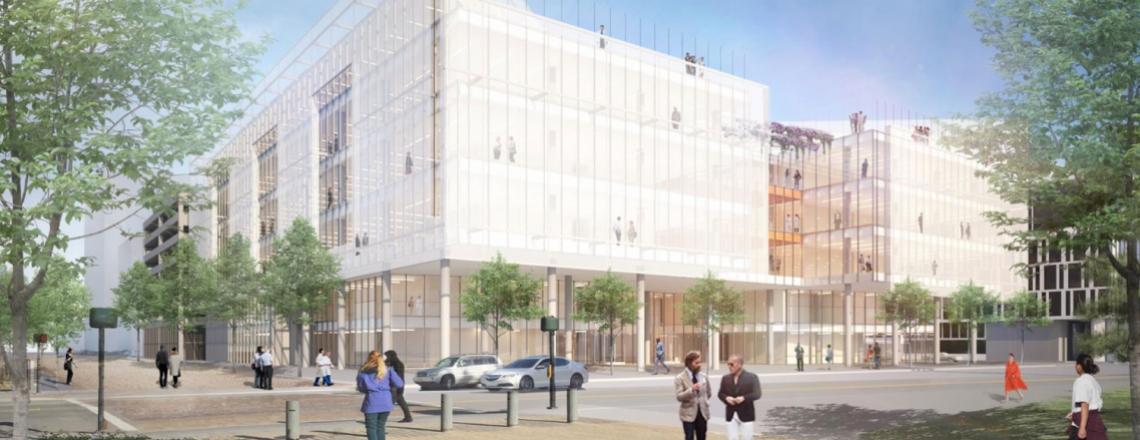 rendering of new Weill Neurosciences Building
