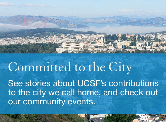 Committed to the City: See an interactive map that highlights some of our contributions to the city we call home.