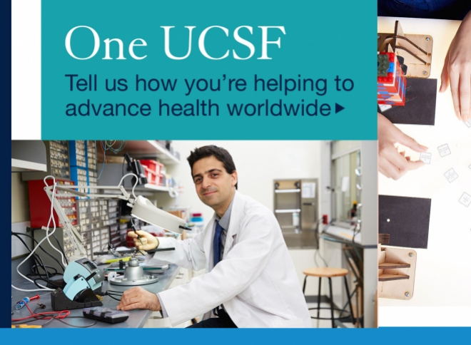 promo for One UCSF campaign