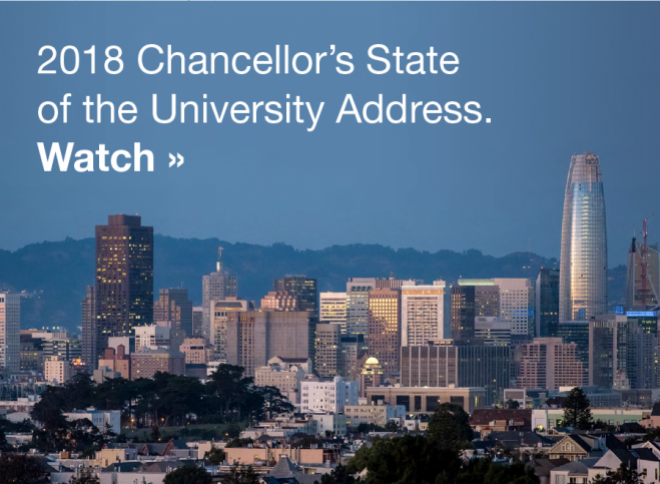 Watch the Chancellor's State of the University Address