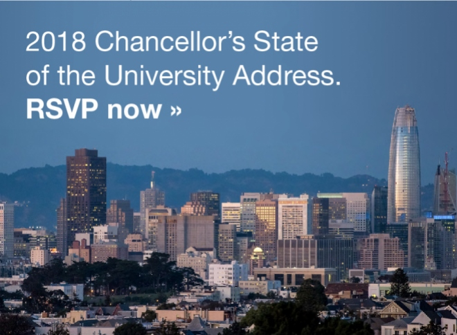 RSVP for the Chancellor's State of the University Address