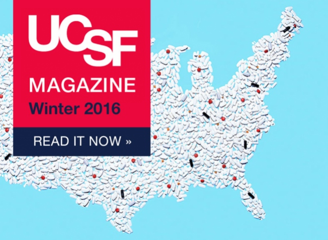 UCSF Magazine's Winter 2016. Read it now