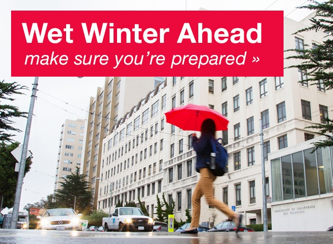 Wet Winter Ahead: Be Prepared