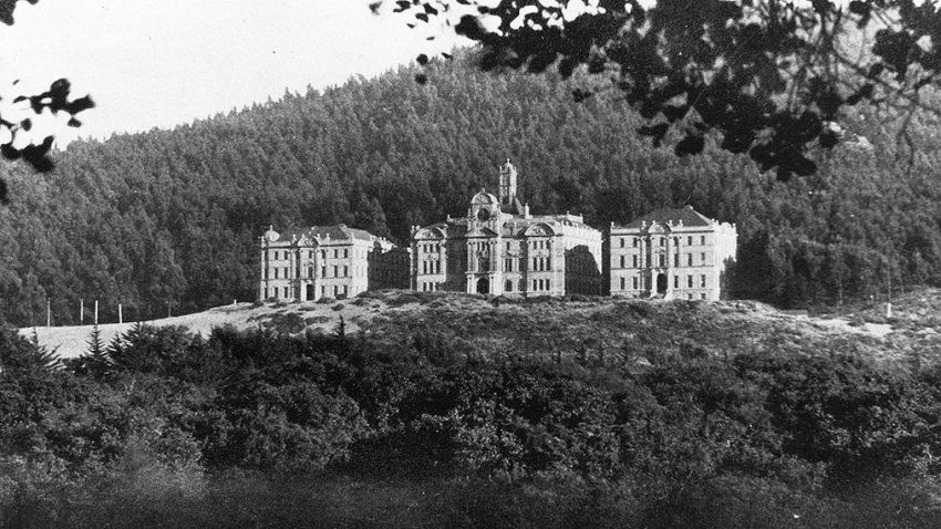 UC Affiliated Colleges building circa 1900-1910